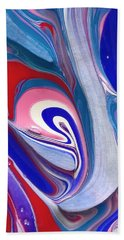 Tempera Paint Series 3 Beach Towel
