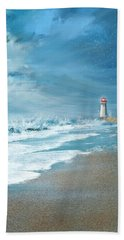 Tempestuous Beach Towel