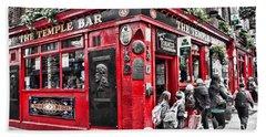 Temple Bar Pub Beach Sheet