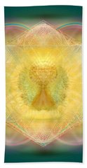Temple Fire Chalice Beach Towel