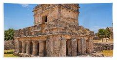 Temple Of The Frescos Beach Sheet