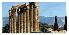 Temple Of Zeus Beach Towel