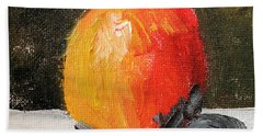 Tempting Eve Beach Sheet by Michael Helfen
