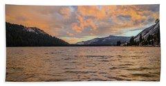 Tenaya Lake Beach Towel