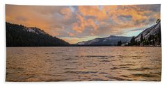 Tenaya Lake Beach Towel