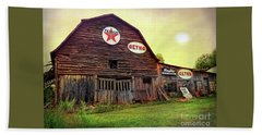 Tennessee Barn Beach Towel by Marion Johnson