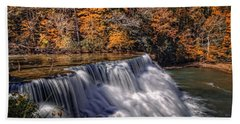 Tennessee Waterfall Beach Towel