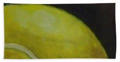 Tennis Ball No. 2 Beach Towel by Kristine Kainer