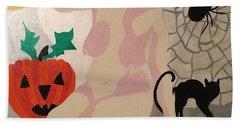 Tenth Halloween  Beach Towel