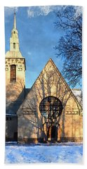 Terijoki Church Beach Towel