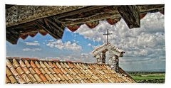 Terra Cotta Church Beach Towel