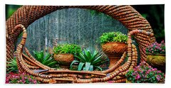 Beach Towel featuring the photograph Terra Cotta Pot Gondola Art by Joseph Hollingsworth