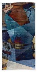 Terra Cotta Vase Beach Sheet