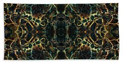 Tessellation V Beach Towel by David Gordon