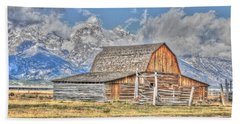 Teton Barn Beach Towel