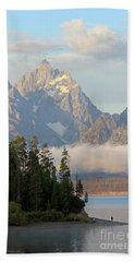 Teton Early Morning Beach Towel