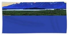 Teton Sunset Beach Sheet