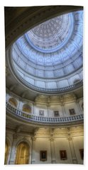 Texas Capitol Dome Interior Beach Sheet