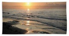 Texas Gulf Coast At Sunrise Beach Towel