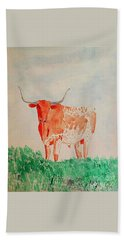 Texas Longhorn Beach Sheet
