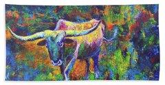 Texas Pride Beach Towel by Karen Kennedy Chatham