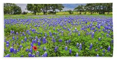 Texas Spring  Beach Towel