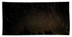 Texas Star Trails Beach Towel