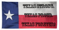 Texas Strong Beach Towel