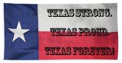 Texas Strong Beach Sheet