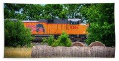 Texas Train Beach Sheet