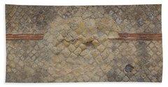 Textural Antiquities Herculaneum Wall Three Beach Towel