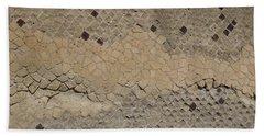Textural Antiquities Herculaneum Wall Two Beach Towel