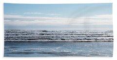 Textured Blues Beach Sheet