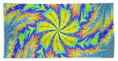 Textured Colors Beach Towel