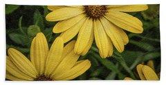 Textured Floral Beach Sheet
