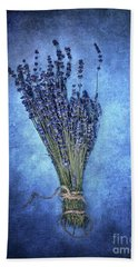 Textured Lavender  Beach Towel