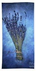 Textured Lavender  Beach Sheet