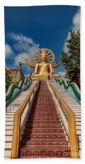Thai Big Buddha Beach Towel