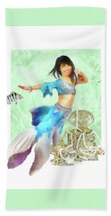 Thai Mermaid Beach Towel by Francesa Miller