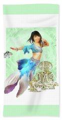 Thai Mermaid Beach Towel