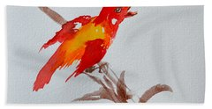 Thank You Bird Beach Towel