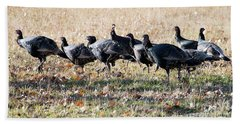Thanksgiving Support Group Beach Towel