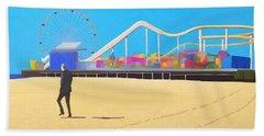 That Man On The Beach Beach Sheet