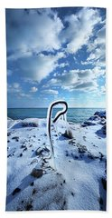 Beach Towel featuring the photograph That One Weird Thing by Phil Koch