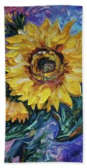 That Sunflower From The Sunflower State Beach Towel