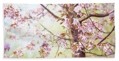 Beach Towel featuring the photograph That Tender Joyful Spring by Jenny Rainbow