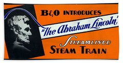 The Abraham Lincoln Beach Towel