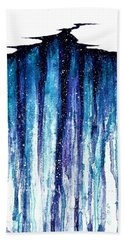 The Abyss  Beach Towel