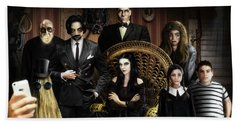 The Addams Family Beach Towel