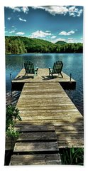 The Adirondacks Beach Sheet by David Patterson